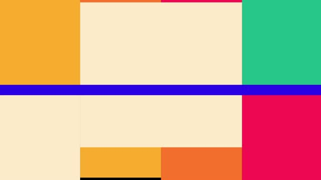 Scalable Squares Transition.